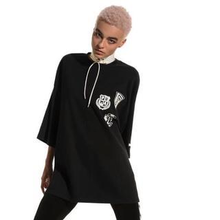 ジェレミースコット(JEREMY SCOTT)の新品FentyPumabyRihannaオーバーサイズ7分袖スウエットTee(Tシャツ/カットソー(七分/長袖))