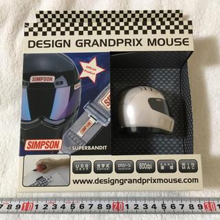 シンプソン(SIMPSON)のSIMPSON★GRANDPRIX MOUSE ヘルメット型マウス シンプソン(PC周辺機器)