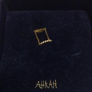 アーカー(AHKAH)のAHKAH ピンキーリング(リング(指輪))