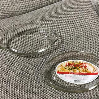 パイレックス グラタン皿 耐熱ガラス容器 2枚 岩城硝子 ガラスプレート