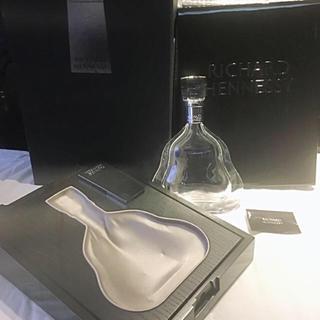 美品 最高級ブランデー ヘネシー リシャール 空きボトル