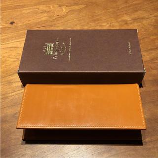 ホワイトハウスコックス(WHITEHOUSE COX)のホワイトハウスコックス  長財布  新品未使用  ニュートン(長財布)