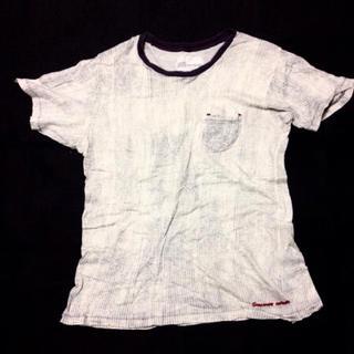 シースウェイ(seesway)のseeswayシースウェイ半袖TシャツM ストライプ(Tシャツ/カットソー(半袖/袖なし))