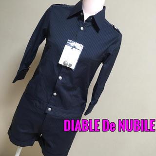 ディアブル(Diable)の新品DIABLE De NUBILE♡シャツロンパース オールインワン(オールインワン)