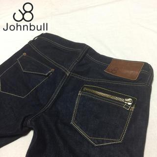 ジョンブル(JOHNBULL)のJOHNBULL ジョンブル レディース ジップ スリム サイズL約80cm(デニム/ジーンズ)