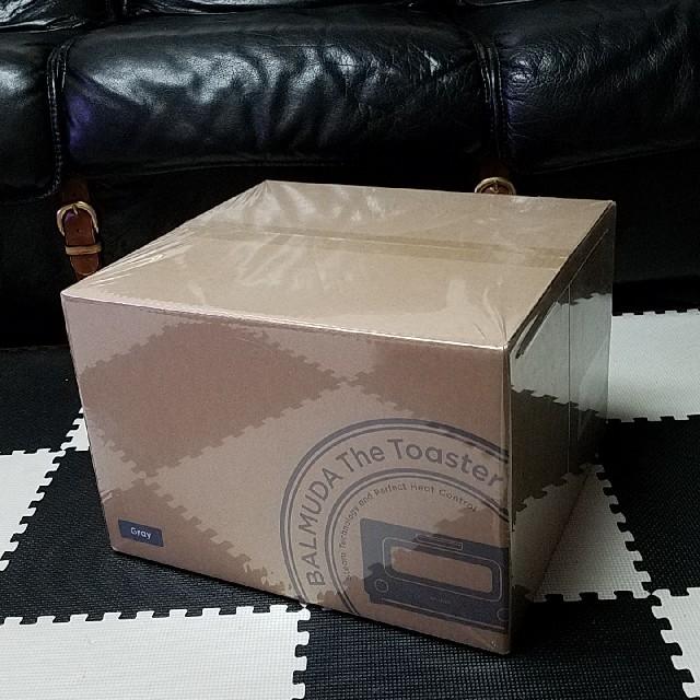 BALMUDA(バルミューダ)のBALMUDA バルミューダ トースター《新品》正規品限定カラー グレー スマホ/家電/カメラの調理家電(調理機器)の商品写真