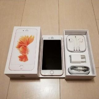 アイフォーン(iPhone)のiPhone6s、64ギガ、SIMフリー(スマートフォン本体)