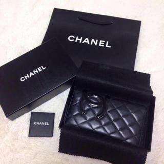 シャネル(CHANEL)の【正規店購入】シャネル♡カンボンライン長財布(財布)
