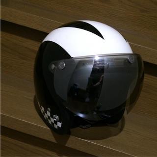 トイズマッコイ(TOYS McCOY)のbuco ブコ ヘルメット M/L  社外シールド付(ヘルメット/シールド)