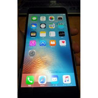 アップル(Apple)のiPhone 6 plus 128g ソフトバンク版 アイフォン シルバー(スマートフォン本体)