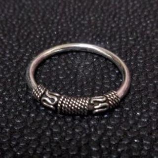 3013 SILVER925 ワイヤーワークリング22号 ゴシック ROCK(リング(指輪))