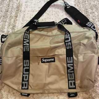 シュプリーム(Supreme)のSupreme 18SS Duffle Bag 普通サイズ TAN(ドラムバッグ)