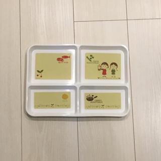 ちびまるこちゃん栄養バランスプレート 新品未使用(容器)