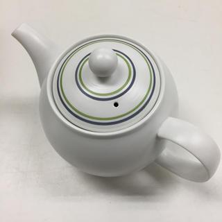ハサミ(HASAMI)の新品未使用 有田焼 白磁ボーダーポット 波佐見焼(食器)