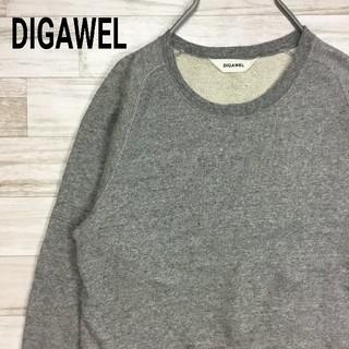 ディガウェル(DIGAWEL)の送料無料! ディガウェル クルーネック スウェットトレーナー 90s メンズ(スウェット)