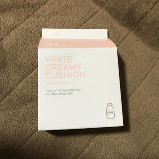 G9 CCファンデーション ホワイトクリーミークッション(ファンデーション)