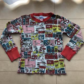 スーパーブーホームズ(SUPER BOO HOMES)のブーフーウー ブーホームズ ワッフルロンT 長袖 カットソー トップス ロンT(Tシャツ/カットソー)