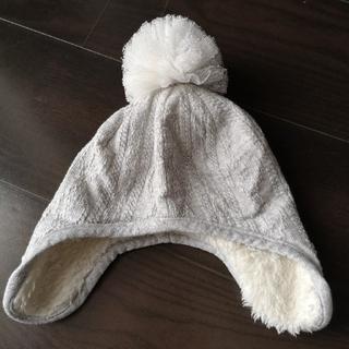 シマムラ(しまむら)の帽子 裏ボア 冬 サイズ42センチ(帽子)