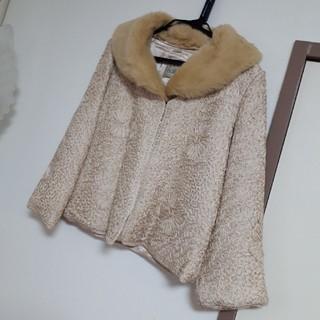 エディグレース(EDDY GRACE)のGRACE 総刺繍 高級感 七分袖 ジャケット(テーラードジャケット)