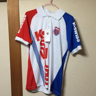 ケースイス(K-SWISS)のK・ SWISSのポロシャツ  サイズM(ウェア)