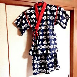 ディズニー(Disney)のディズニー 和柄 甚平 130(甚平/浴衣)
