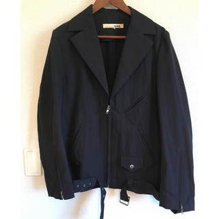タイシノブクニ(taishi nobukuni)のジャケット TAISHI NOBUKUNI DUDE(ライダースジャケット)