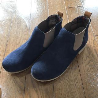 ムジルシリョウヒン(MUJI (無印良品))のブーツ   ショートブーツ   スウェード  ブーティ(ブーツ)