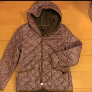 スモックショップ(THE SMOCK SHOP)のスモックショップ キルティングジャケットコート M(ブルゾン)