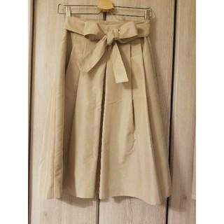 アンクライン(ANNE KLEIN)のアンクライン リボンスカート(ひざ丈スカート)