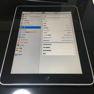 アイパッド(iPad)のipad 64GB 初代 美品✨(スマートフォン本体)