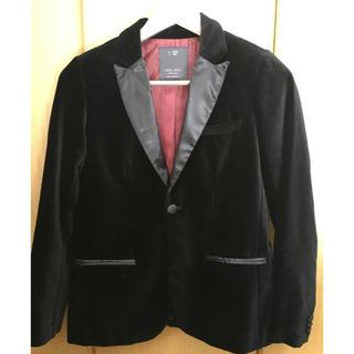 ザラ(ZARA)のZARAベロアジャケット卒業式入学式フォーマルに(ジャケット/上着)