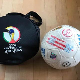 アディダス(adidas)の2002 ワールドカップ記念サッカーボール(記念品/関連グッズ)