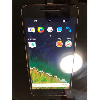 ネクサス7(NEXUS7)のNexus 6P 携帯本体 中古(携帯電話本体)