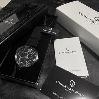 クリスチャンポー(CHRISTIAN PEAU)のChristian Paul【クリスチャンポール】腕時計 マーブル(腕時計(アナログ))