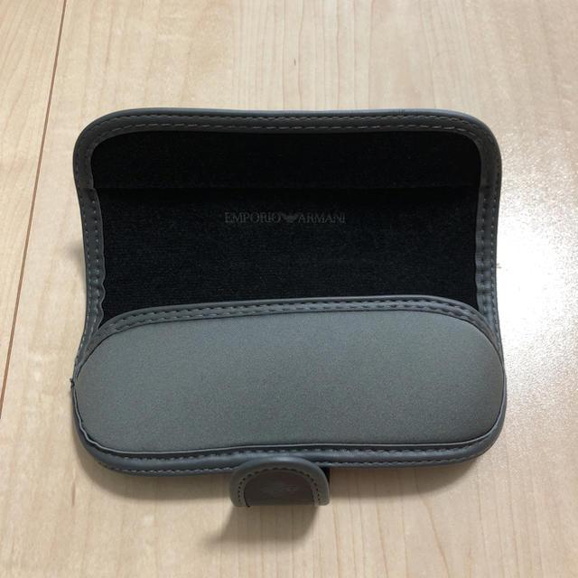 Emporio Armani(エンポリオアルマーニ)のエンポリオアルマーニ メガネケース メンズのファッション小物(サングラス/メガネ)の商品写真