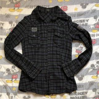 カーム(CALM)のチェックシャツ (シャツ/ブラウス(半袖/袖なし))