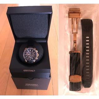 セイコー SEIKO アストロン 美品 SBXB055 社外ベルト装着(腕時計(デジタル))