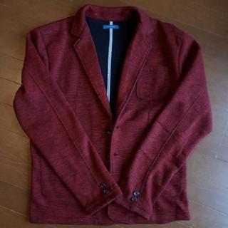 ジェイフェリー(J.FERRY)のJ.FERRY メンズ ジャケット ワインレッド色(テーラードジャケット)