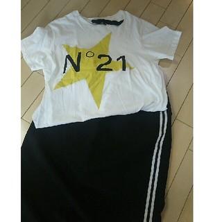 ヌメロヴェントゥーノ(N°21)のヌメロヴェントゥーノ Tシャツ 薄手(Tシャツ(半袖/袖なし))