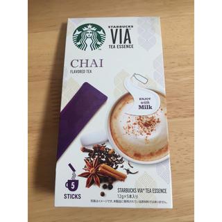 スターバックスコーヒー(Starbucks Coffee)の【新品未開封】スターバックスヴィア チャイ(茶)