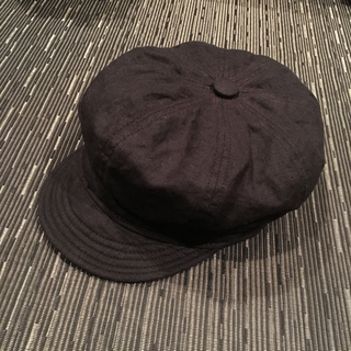 ニューヨークハット(NEW YORK HAT)のNEWYORK HAT キャスケット帽 ブラック Lサイズ(キャスケット)