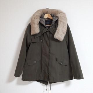 ドゥアルシーヴ(Doux archives)のDouxArchivesラビットファージャンパージャケット(毛皮/ファーコート)