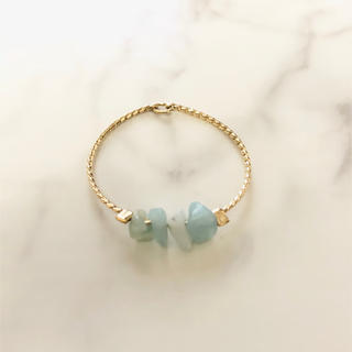 light blue chain ring(リング)