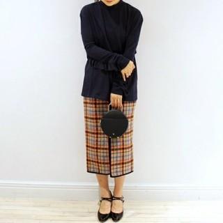 プラージュ(Plage)のMSGM ツイードタイトスカート(ひざ丈スカート)
