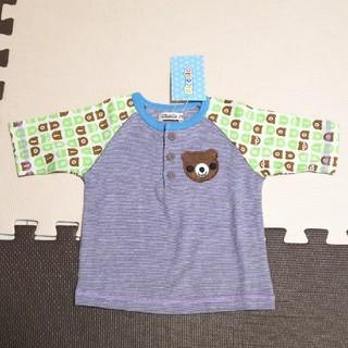 キムラタン(キムラタン)の【新品】Piccolo ピッコロ Tシャツ カットソー 七分袖 70 キムラタン(Tシャツ)