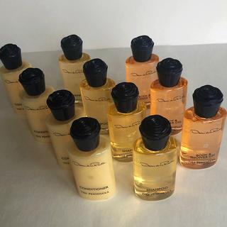 オスカーデラレンタ(Oscar de la Renta)のペニンシュラ×オスカーデラレンタ ホテルアメニティセット 全11ボトル(シャンプー)