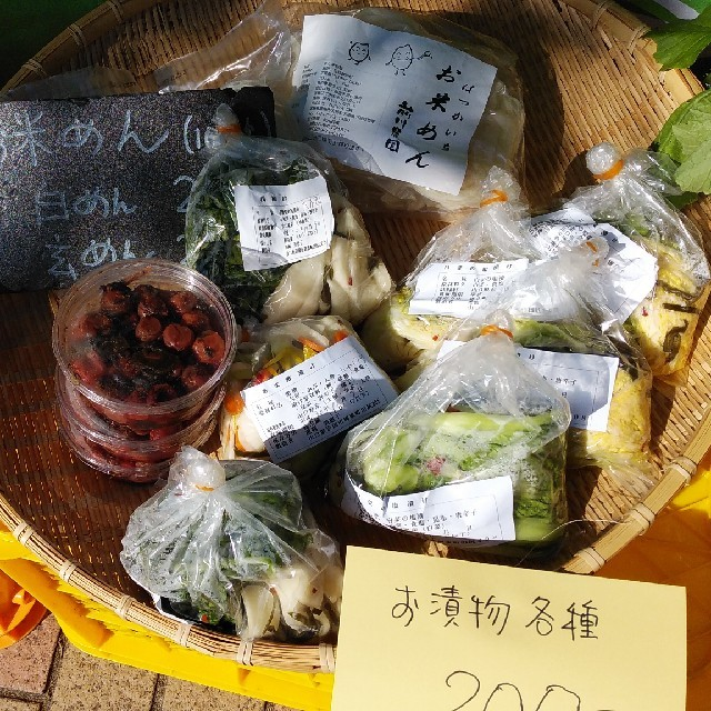 新米恋の予感1キロと無農薬野菜おまかせセット 食品/飲料/酒の食品(その他)の商品写真