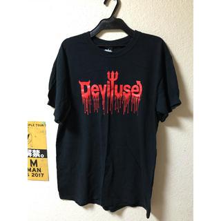 デビルユース(Deviluse)のDeviluse ブラッドロゴ Tシャツ(Tシャツ/カットソー(半袖/袖なし))