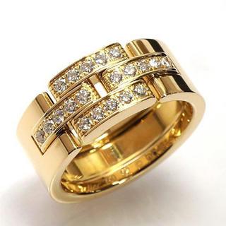 カルティエ(Cartier)の正規品 カルティエ タンクフランセーズ リング #12 K18YG  指輪(リング(指輪))