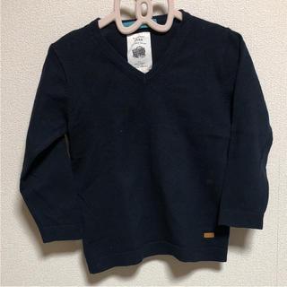 ザラ(ZARA)のZARA Vネックセーター 104cm(ニット)